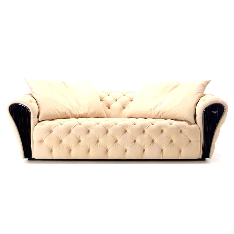 宾利双人沙发(超纤皮/布艺)
