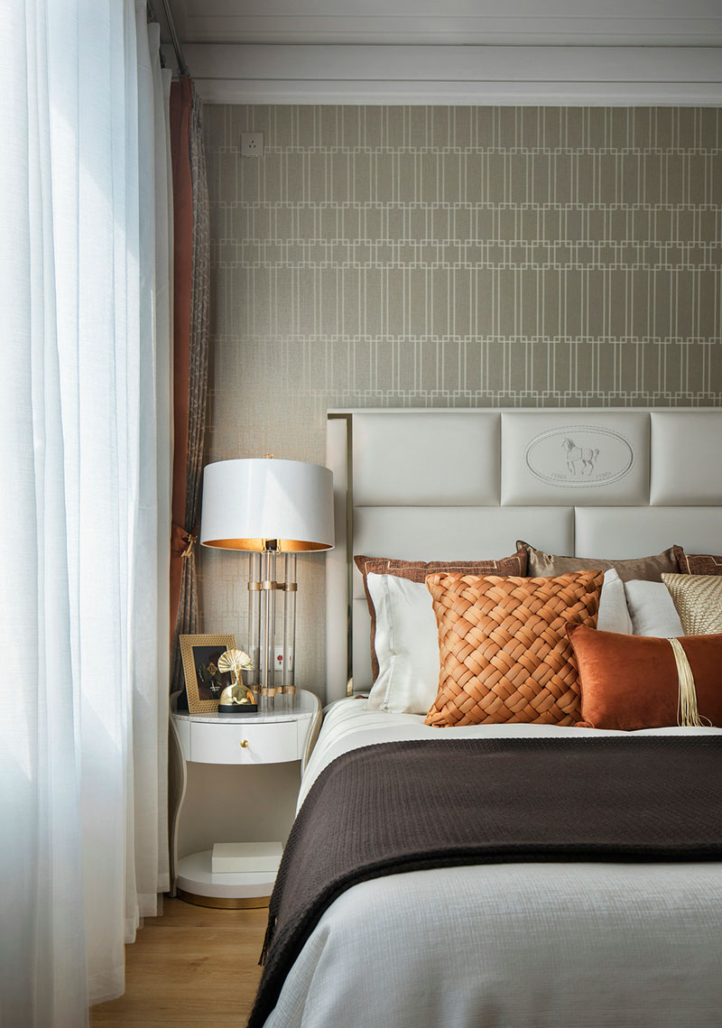 橙调,经典光芒--卧室