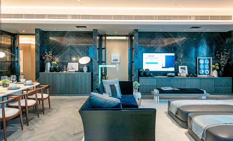 英国顶尖设计师KellyHoppen客厅