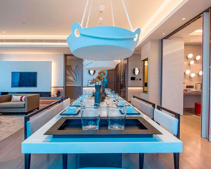 英国顶尖设计师KellyHoppen餐厅