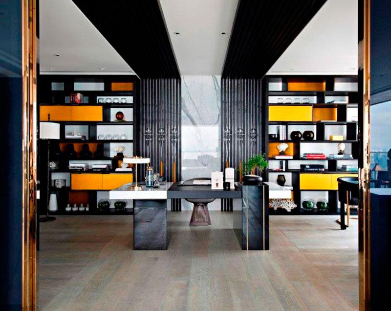英国顶尖设计师KellyHoppen书房