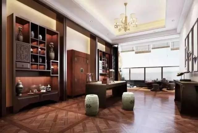 21个新中式书房设计,感受书香的气息