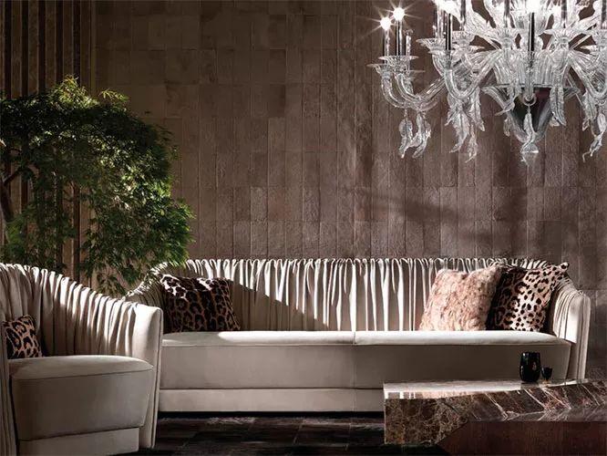 一个漂亮的沙发,决定整个客厅的气