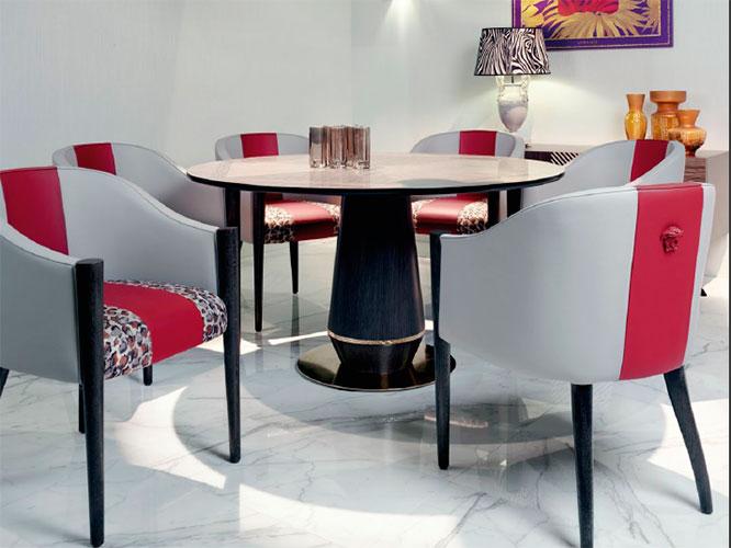 范思哲轻奢餐桌餐椅-F21
