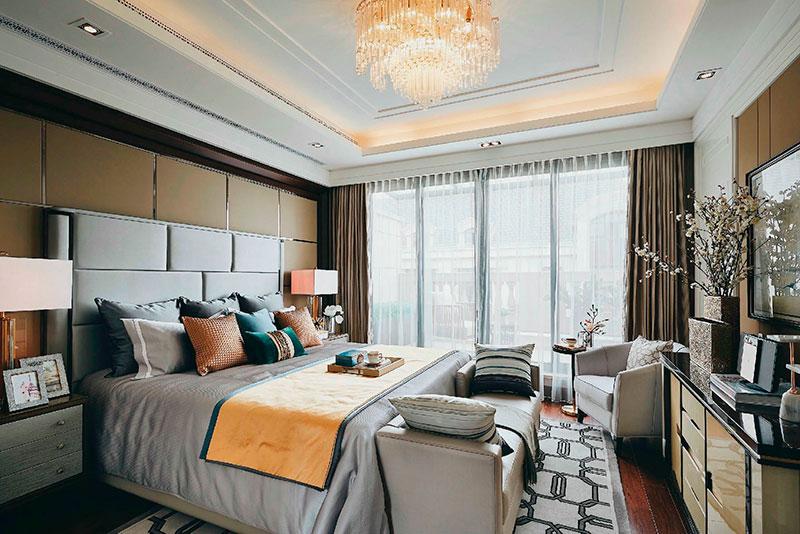 上海绿地海珀世家卧室